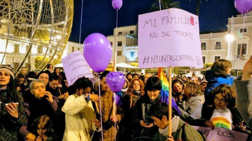 Las concentraciones se han repetido en Mérida, Badajoz, Cáceres, Almendralejo o Plasencia, entre otras ciudades