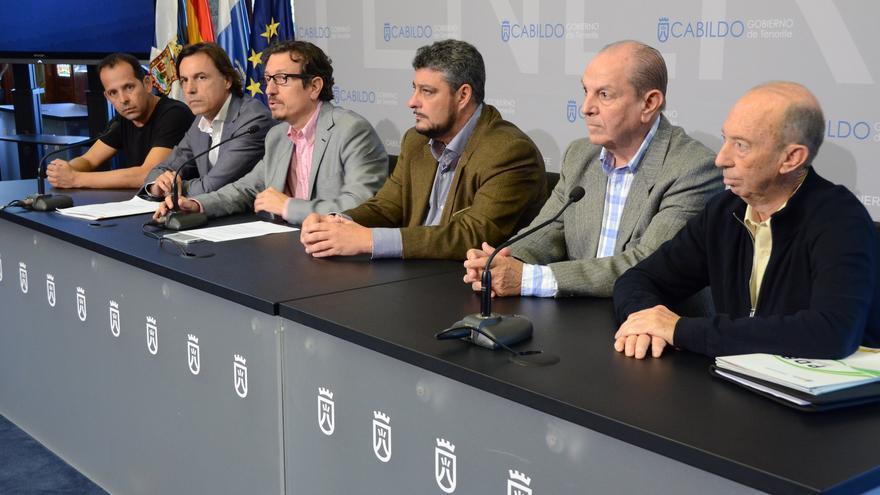 Presentación de la campaña 'Todo lo que somos' de promoción de los vinos de Tenerife