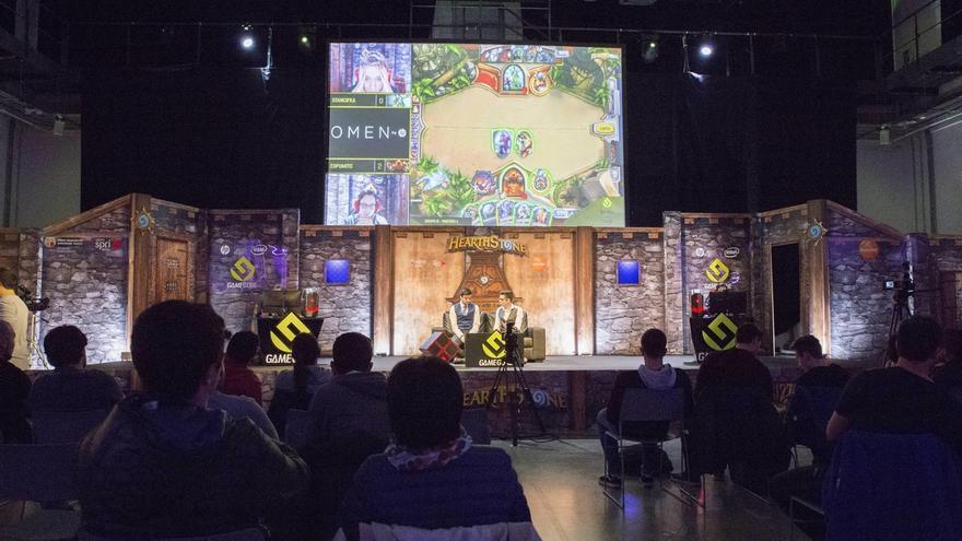 Más de 500.000 personas verán por Internet las partidas de la 17 Gamegune, que se celebra en San Sebastián