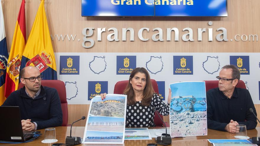 La consejera de Política Territorial del Cabildo de Gran Canaria, Inés Miranda.