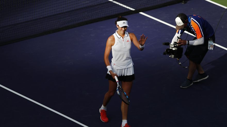 Muguruza superó a Kayla Day en Indian Wells.