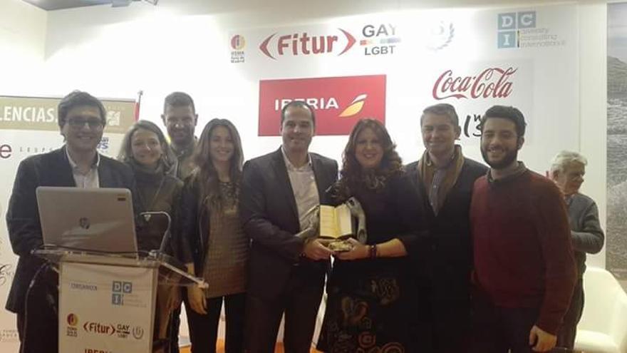 La diputada de Ciudadanos en la Asamblea de Madrid Eva Borox, con el portavoz del grupo, Ignacio Aguado.