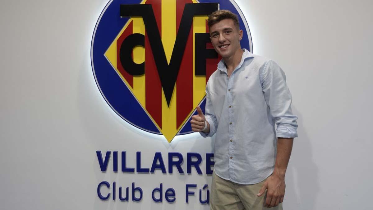Alberto del Moral, tras su traspaso por el Villarreal
