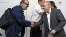Juan Manuel Brito y Antonio Morales. EFE/Ángel Medina G.