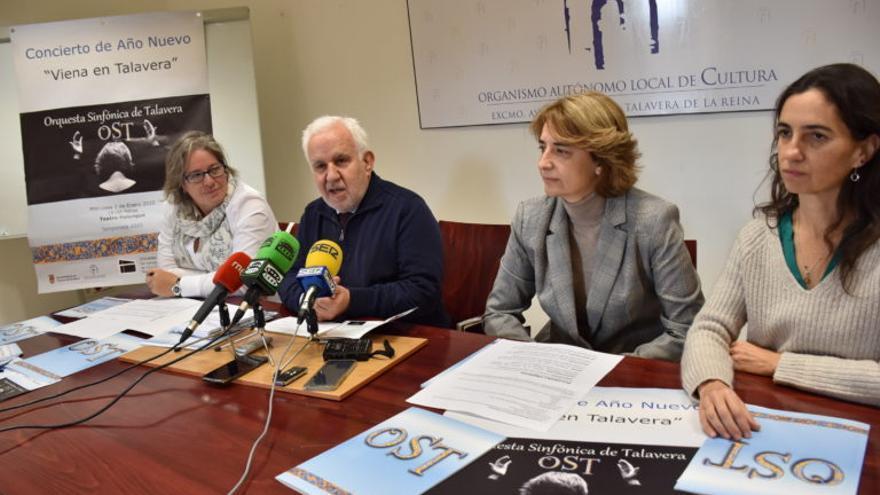 Presentación de Orquesta Sinfónica de Talavera  FOTO: Ayuntamiento de Talavera de la Reina