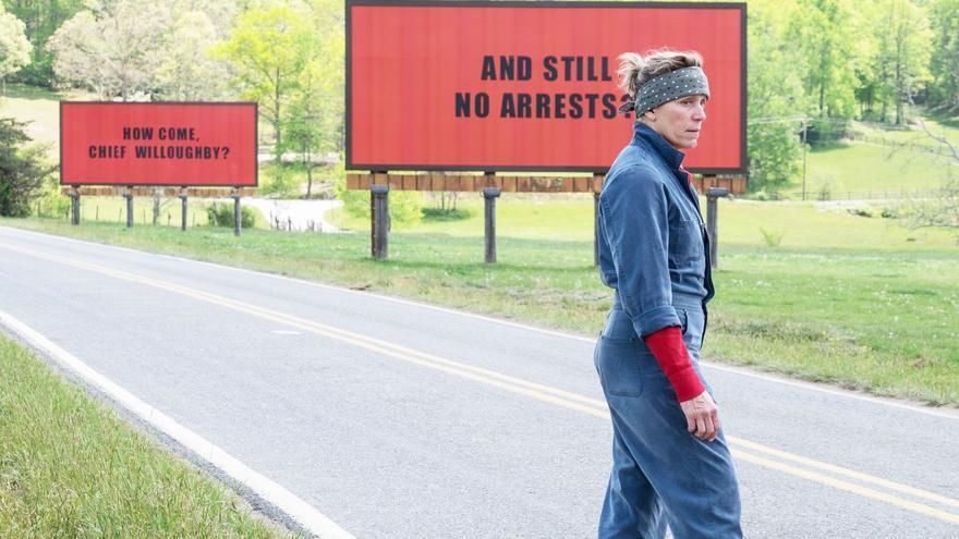 Tres anuncios en las afueras es ya una de las películas del año (pasado)