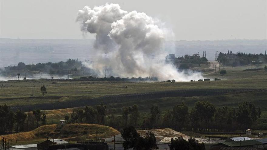 Al menos 10 muertos en un ataque sirio-ruso a una escuela siria, según HRW