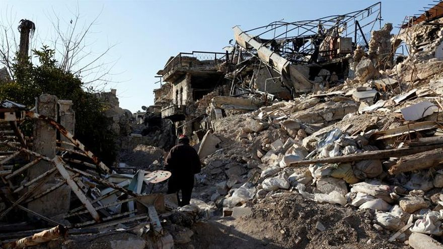 La ONU halla responsable a la Fuerza Área siria del ataque con gas sarín en abril