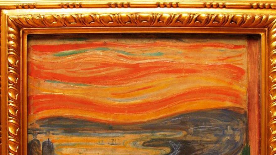 El Grito, el cuadro más famoso de Edvard Munch, se exhibe en la Galería Nacional de Oslo / C.C.