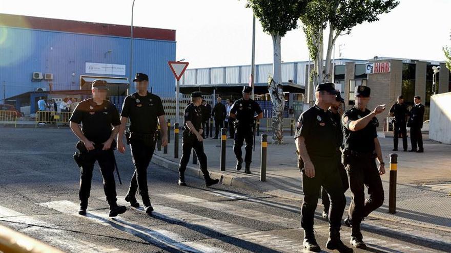 Gran despliegue policial por la llegada de Rajoy para testificar en el Gürtel