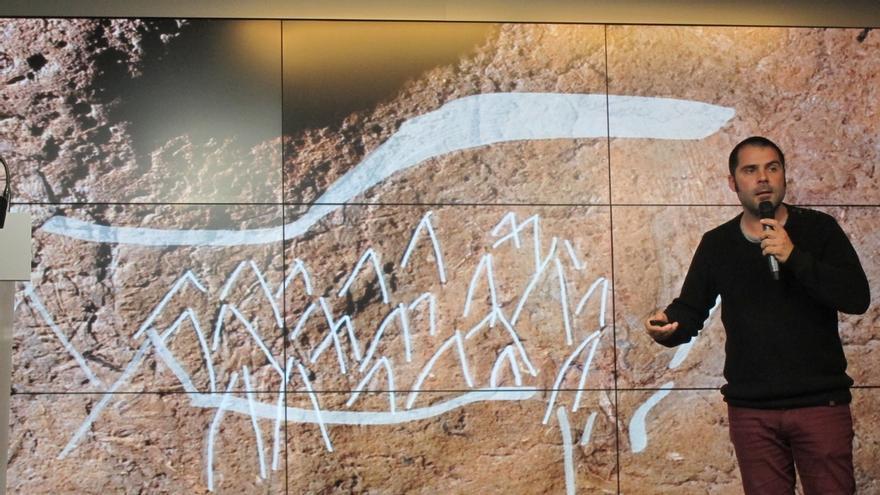 Bizkaia descubre más de 70 grabados y pinturas de unos 14.000 años de antigüedad en la cueva de Atxurra en Berriatua