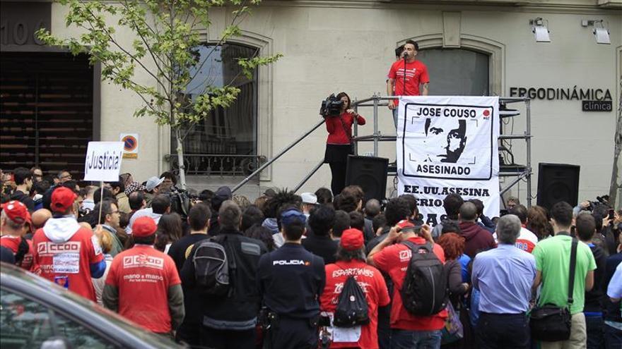 Reclaman Justicia para Couso 12 años después de su muerte, ante la embajada de EE.UU.