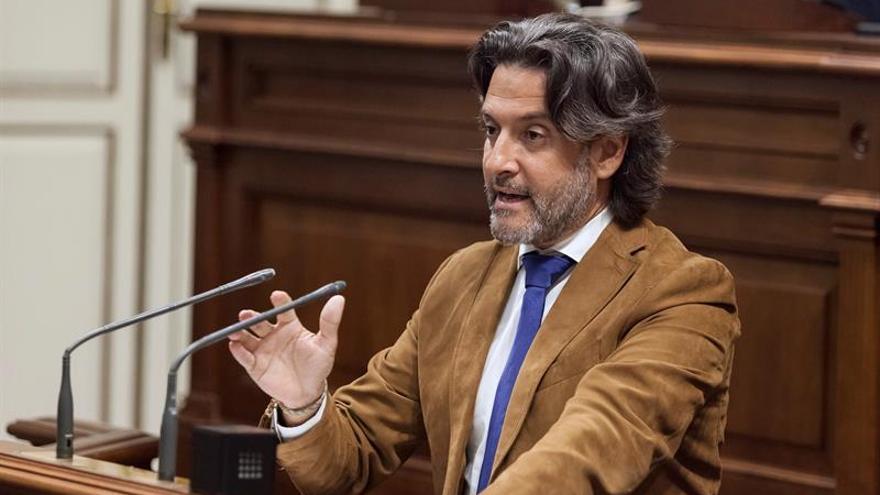 El diputado del Grupo Parlamentario Socialista Gustavo Matos