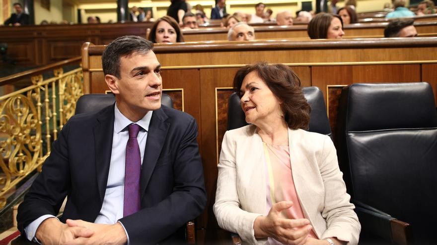 """Pedro Sánchez, sobre la salida de los restos de Franco antes del mes de agosto: """"Os pillará trabajando"""""""