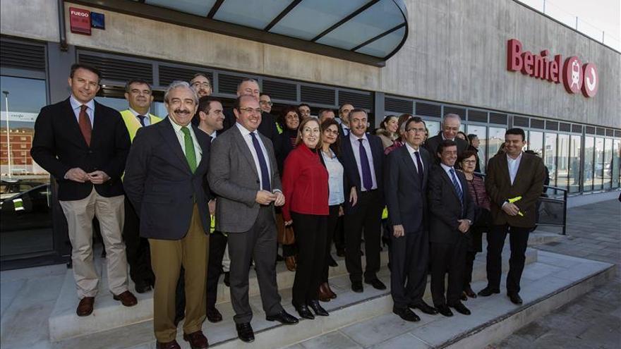 Pastor visita las obras del AVE en Murcia que se encuentran al 95% de ejecución