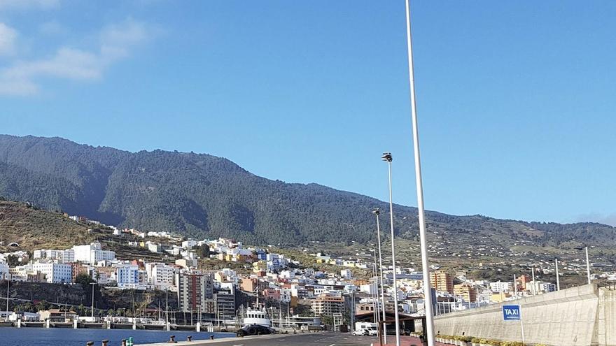 Poco nuboso o despejado  este miércoles en La Palma