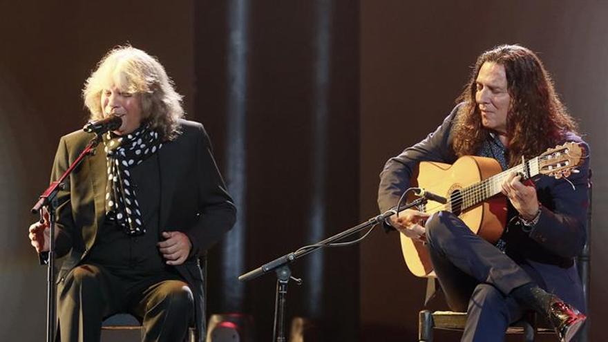 José Mercé y Tomatito graban un disco juntos y comenzarán una gira en noviembre