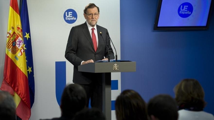 """Rajoy pide a Puigdemont que renuncie a su """"estrategia de desafío permanente"""" que """"no conduce a parte alguna"""""""