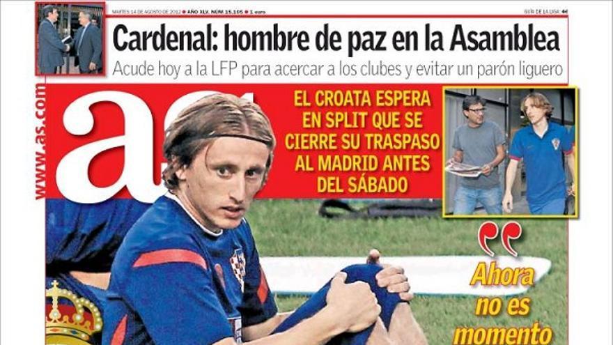 De las portadas del día (14/08/2012) #13