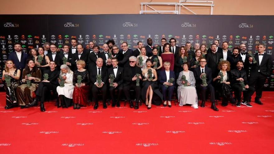 La gala de los Goya logró un 26 % de cuota de pantalla
