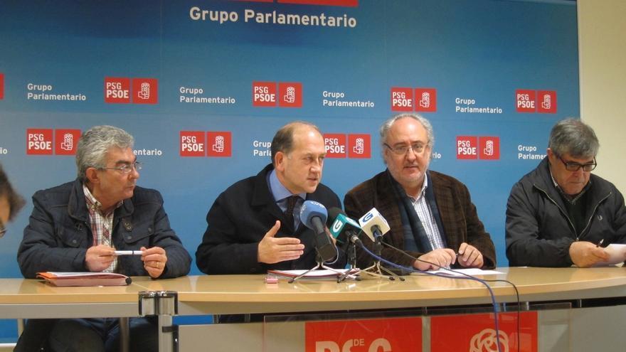 """El PSdeG ve a Feijóo """"un líder devaluado"""" que está causando que el PP """"pase por encima de Galicia"""" con el AVE y la AP-9"""
