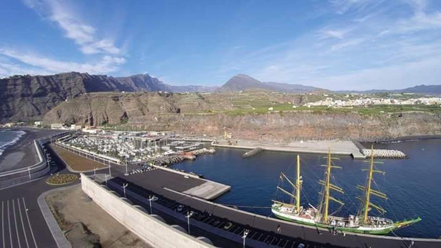 Puerto de Tazacorte. Foto: Ayuntamiento de la Vila y Puerto de Tazacorte.