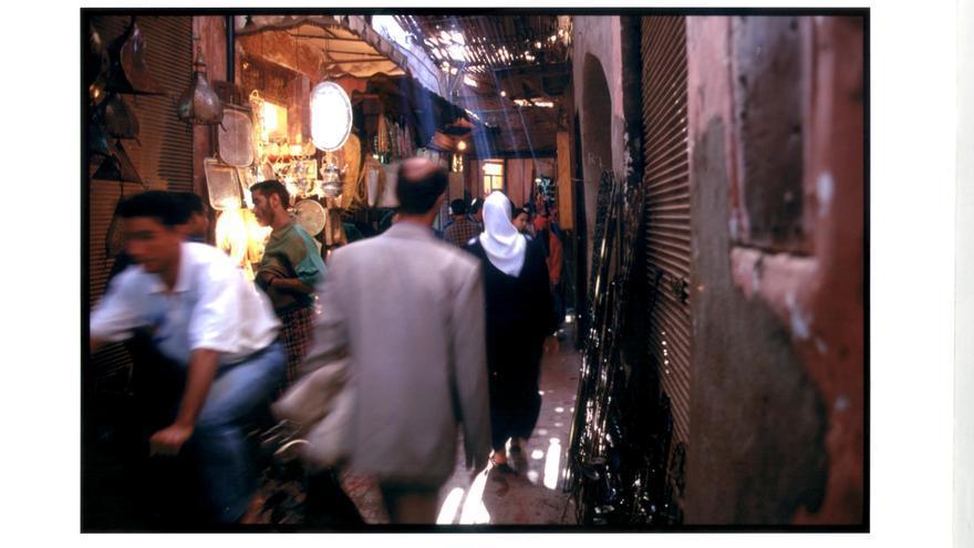 El zoco es el centro de la vida económica y comercial de Marrakech / C. P.