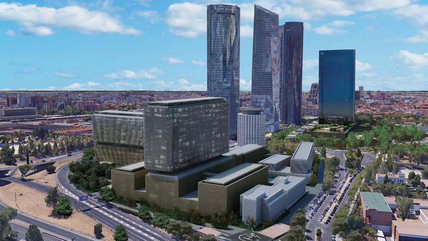 Proyecto para el hospital La Paz: cuatro edificios nuevos en 2029. / Madrid.org