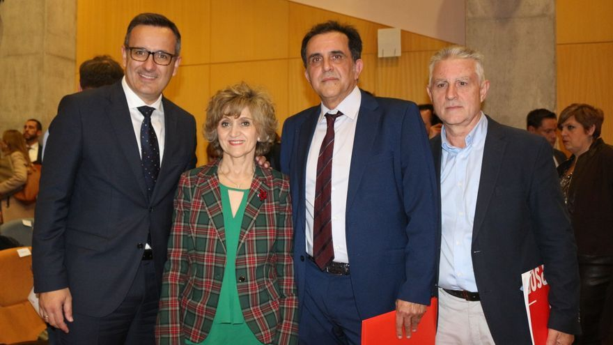 """Diego Conesa: """"Cuando sea presidente de la Comunidad, la sanidad, las políticas sociales y el tercer sector serán una prioridad"""""""