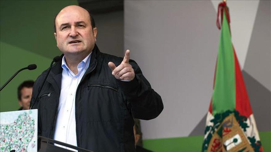 """El PNV dice que solo pide """"a Rajoy respeto a lo que el pueblo decida"""""""