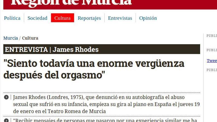 Entrevista a James Rhodes.