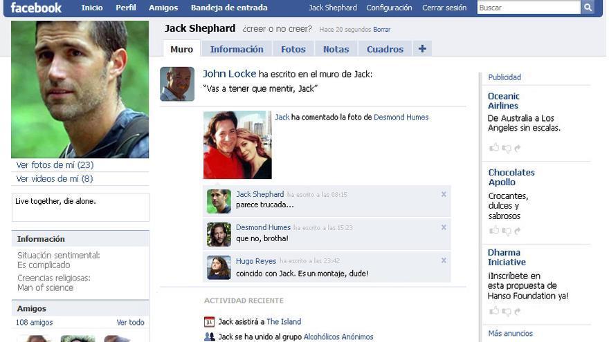 En 2010 Facebook mostraba otro tipo de actualizaciones en los 'feeds'