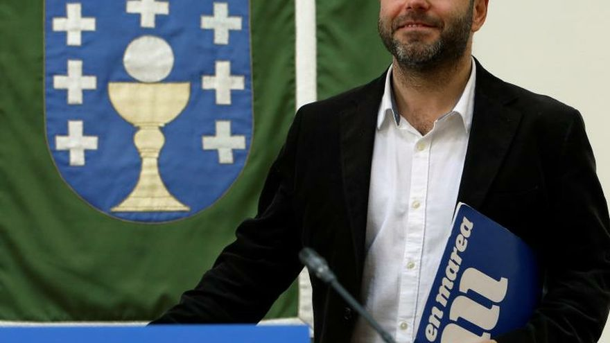 El portavoz de En Marea, Luís Villares.