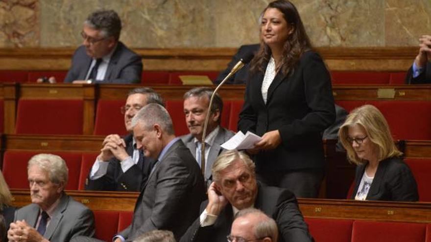 Maina Sage, diputada del Parlamento de Francia y vicepresidenta de la Comisión de Instituciones de la Polinesia Francesa.