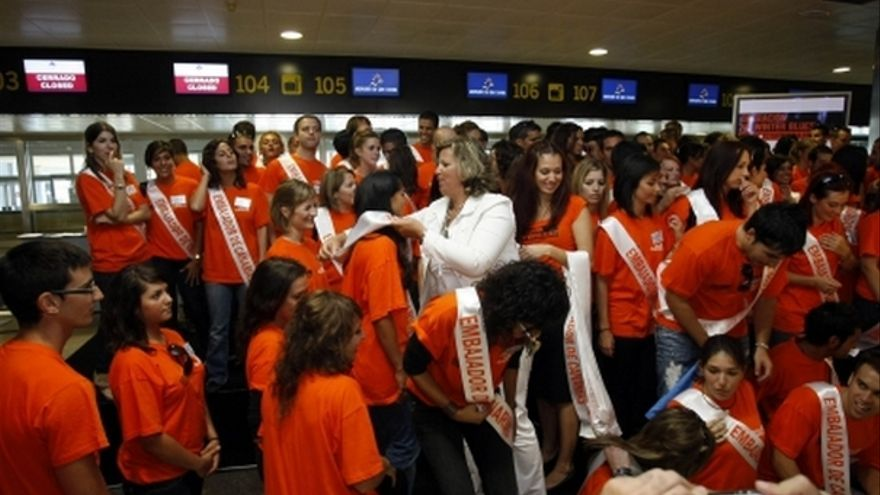 De los embajadores de la Consejería de Turismo del Gobierno canario #3