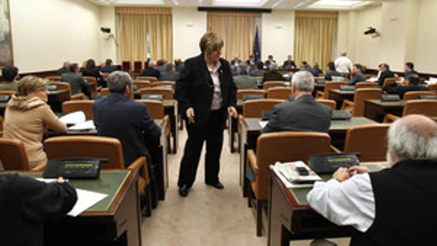 Comisión del Pacto de Toledo en el Congreso