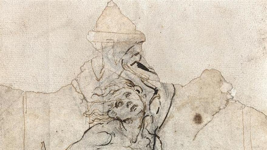 Una casa de subastas francesa encuentra por sorpresa un dibujo de Da Vinci