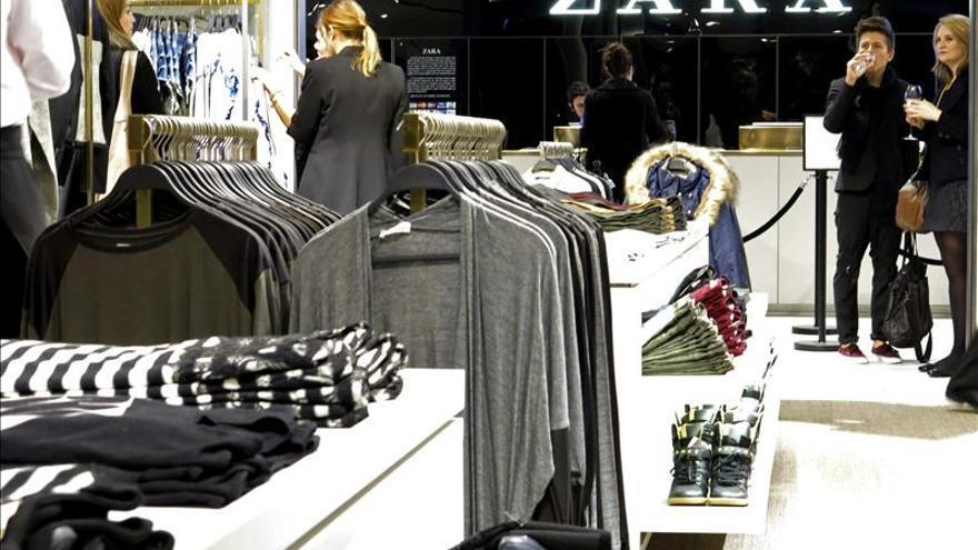 Las ventas de Inditex suben un 51 por ciento en cuatro años, hasta los 16.724 millones