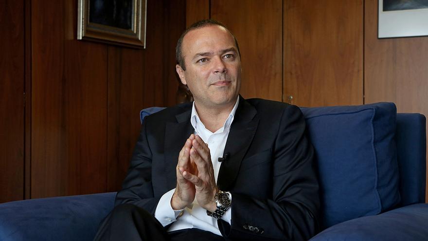 El alcalde de Las Palmas de Gran Canaria, Augusto Hidalgo. (Foto: Alejandro Ramos).