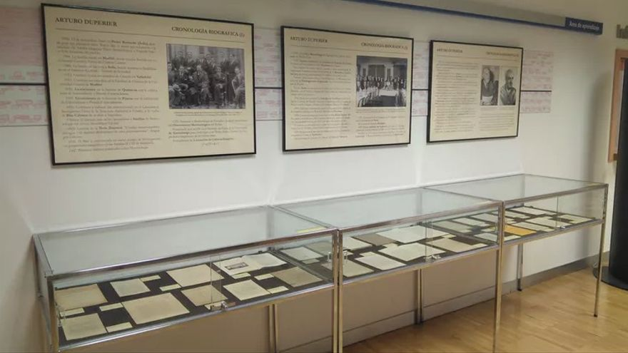 Exposición sobre Duperier en la Universidad Complutense