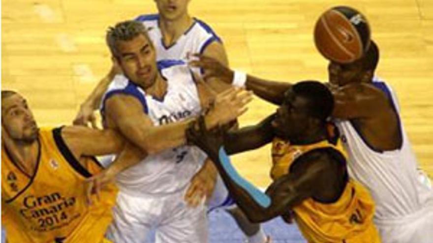 La defensa del Meridiano apabulla al Gran Canaria 2014