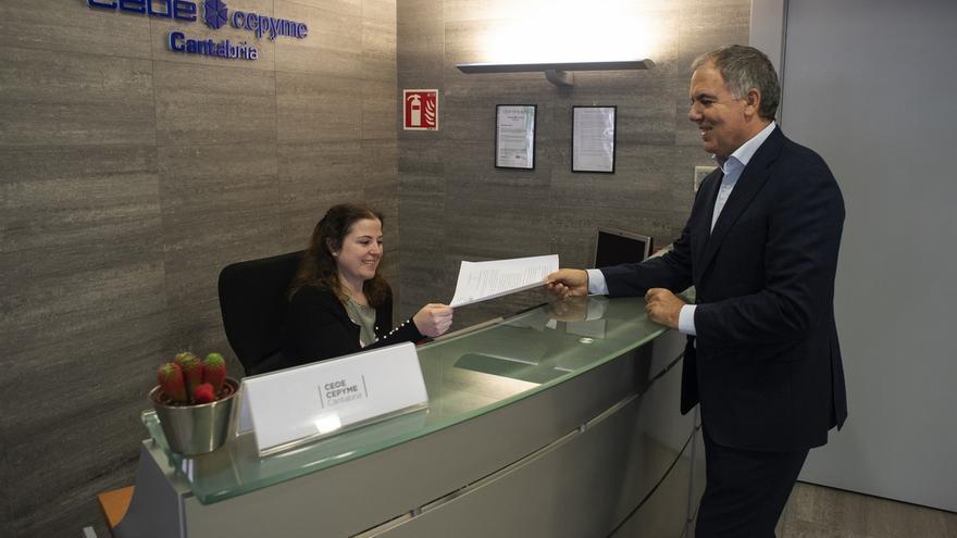 Vidal de la Peña, proclamado presidente de CEOE-CEPYME Cantabria para un segundo mandato