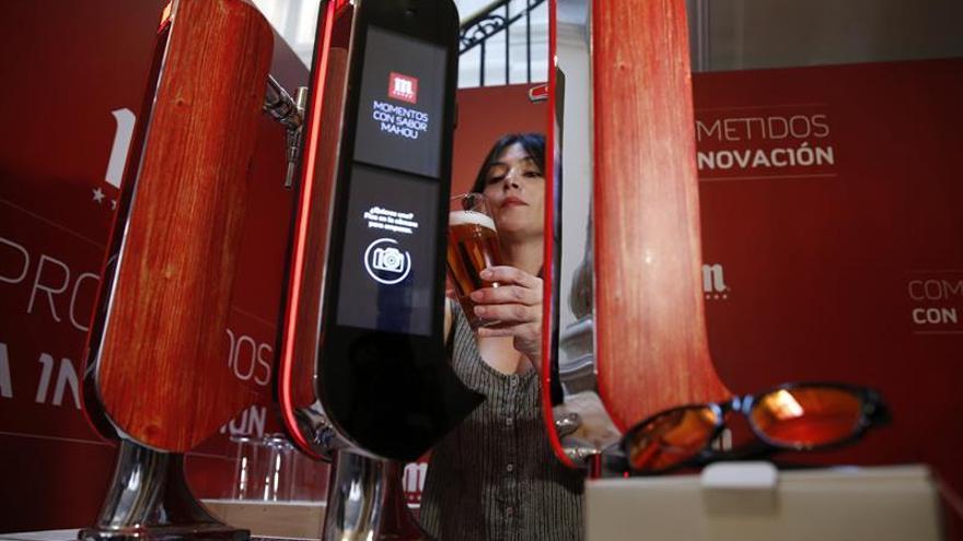 Grifo de cerveza interactivo y gafas inteligentes al servicio del ocio