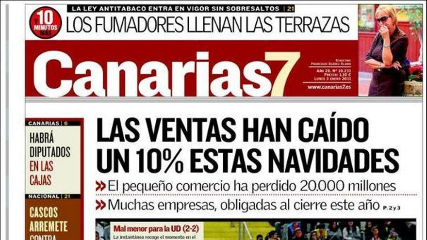 De las portadas del día (03/01/2011) #1