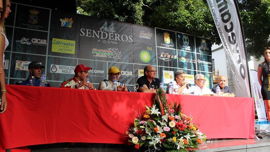Rueda de prensa de clausura de la 44 edición del 'Rallye de Senderos de La Palma'.