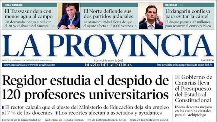 De las portadas del día (01/05/2012) #4