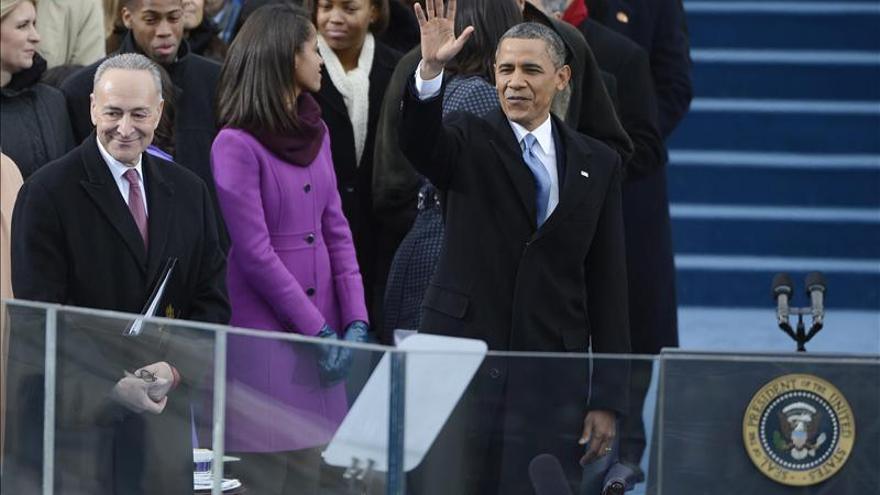 """Obama dice que EE.UU. no puede prosperar si solo les va bien a """"unos pocos"""""""