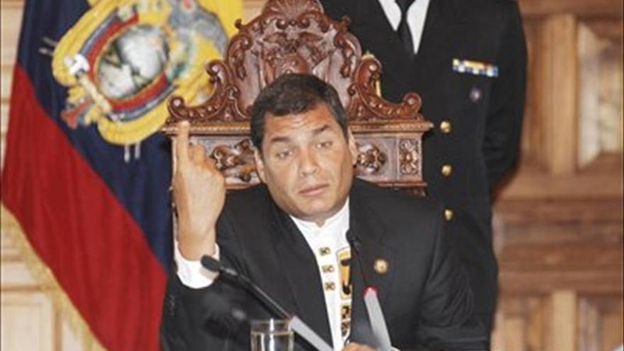 """Correa tendrá una toma """"de posesión popular"""" tras su investidura en el parlamento"""