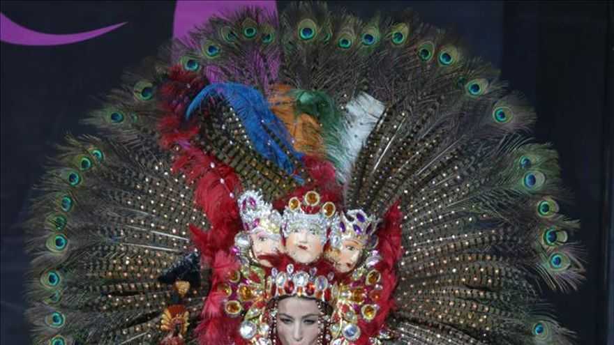 """El """"Mejor Traje Típico"""" en Miss Universo había sido confeccionado para Miss Nicaragua Gay"""