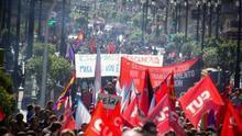 Manifestación en Vigo del 1 de Mayo